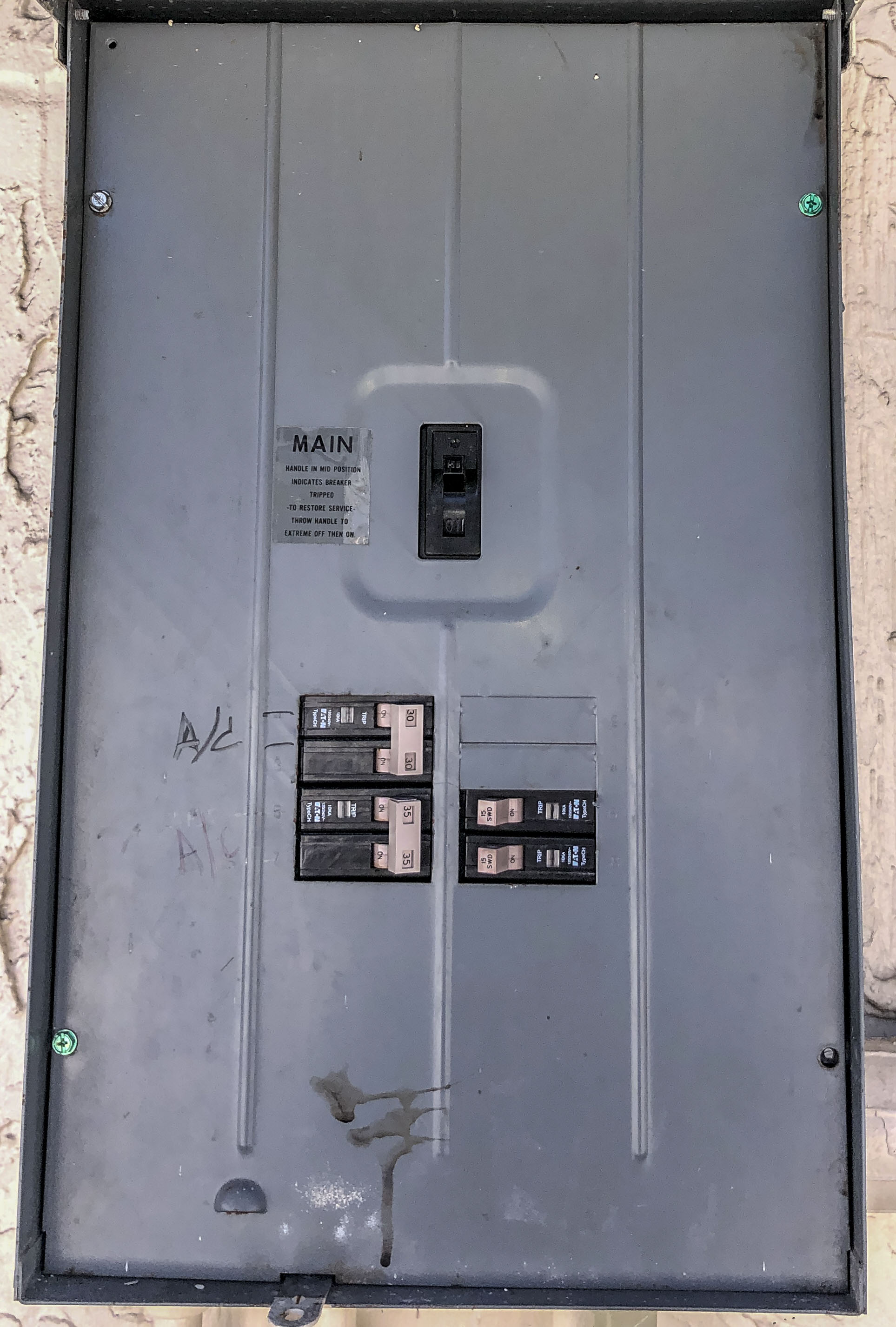 Main Power Panel